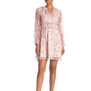 CeCe byCynthia Steffe heirloom floral ruffle dress